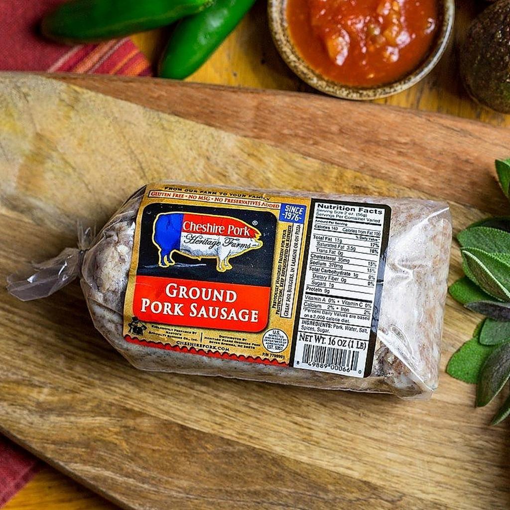 Cheshire Pork Ground Pork Sausage