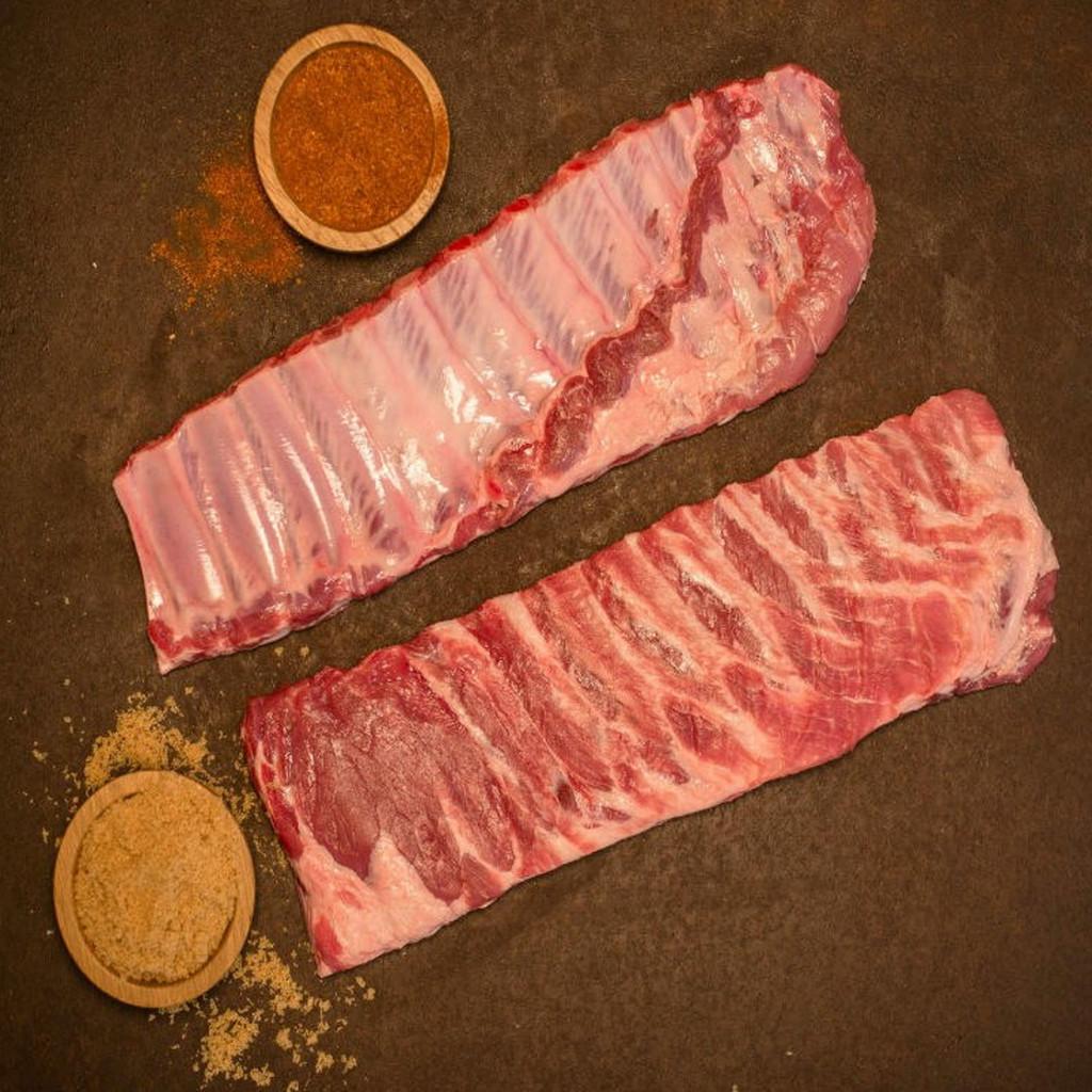 All Natural Cheshire Pork St. Louis Ribs