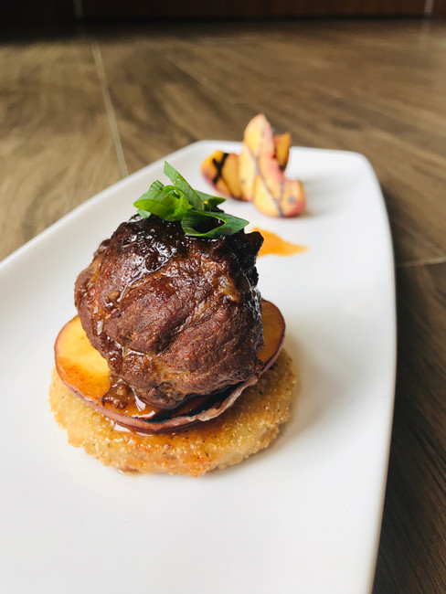 RECIPE: CHIPOTLE BRAISED PORK CHEEK BY CHEF ANDREW POLIQUIN OF BRAISE