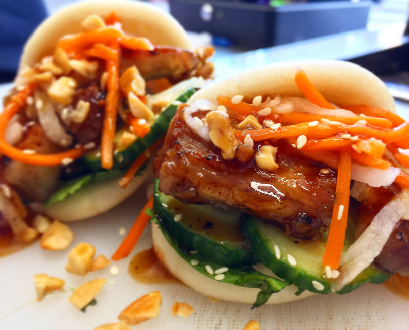 RECIPE: URBAN STREET EATS CHESHIRE PORK BELLY BAO BUNS