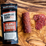 Salami Vesuvio 6oz Chub, Cheshire Pork