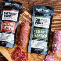 Salami Classico & Salami Vesuvio 6oz Chub
