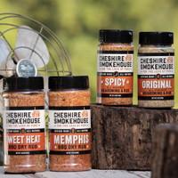 Cheshire Smokehouse Dry Rub Seasonings