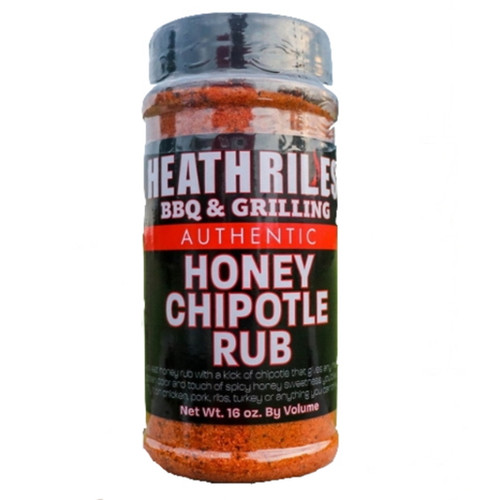 Heath Riles Honey Chipotle Rub Shaker