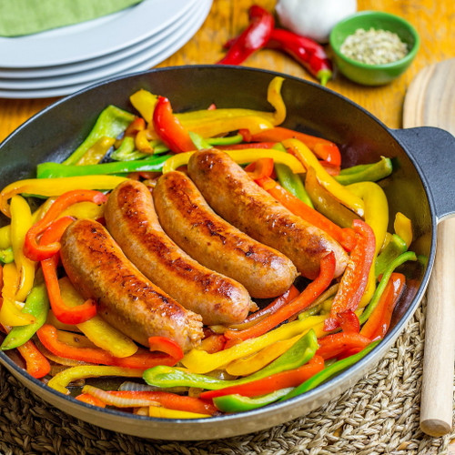 Hot Italian Sausage Links