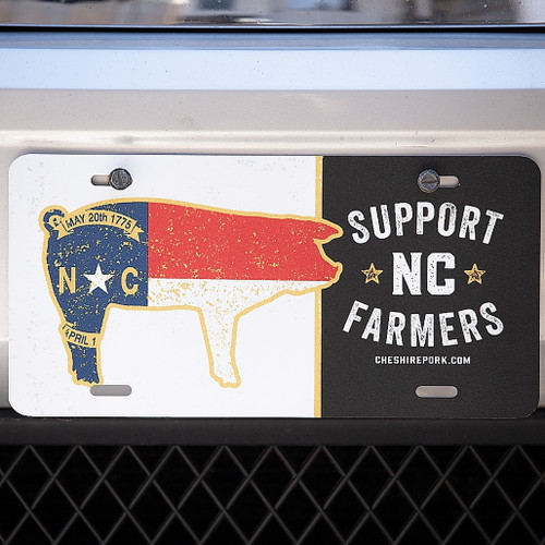 Support NC Farmers License Plate