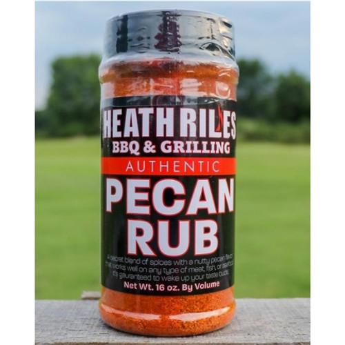 Heath Riles Pecan Rub 16oz