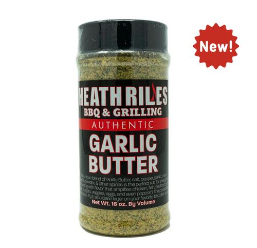 Heath Riles Garlic Butter Rub 16oz