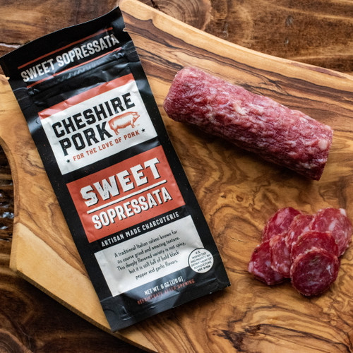 Cheshire Pork Sweet Sopressata 6oz Chub