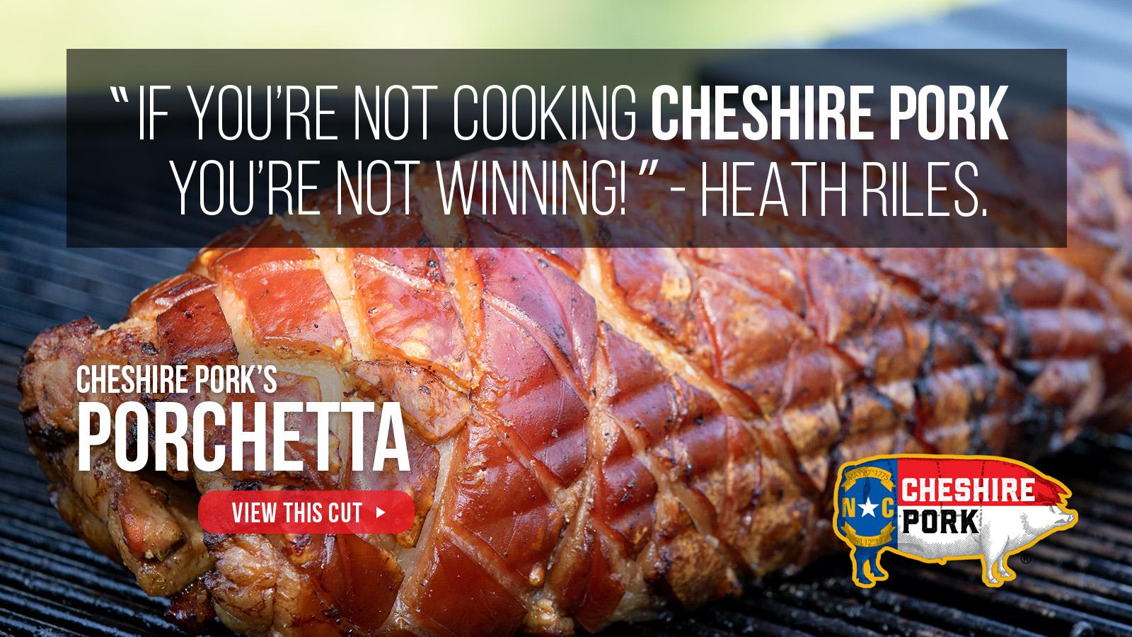 Cheshire Pork Porchetta