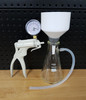 Vacuum Filtration Setup with PYREX 500ml Filter Flask and 90mm Filter Funnel and Pump (Complete Kit)
