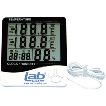Digital Desk Top Thermometer and Humidity Meter with Probe