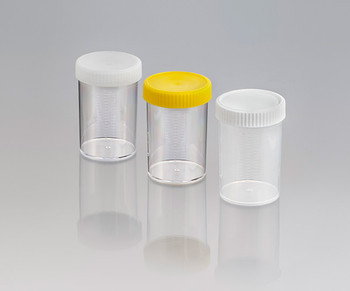 Screw Cap Container, Unlabelled, Sterile with Yellow Cap, 250ml (Carton of 147)
