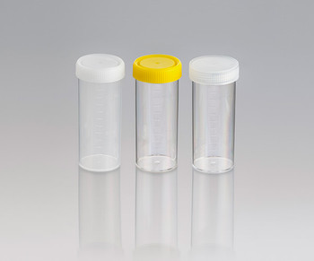 Water Sample Screw Cap Containers with Sodium Thiosulphate, Sterile with Yellow Cap, 120ml (Carton of 264)