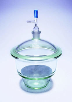 PYREX Vacuum Desiccator with Plate and Rotaflo® Vacuum Stopcock, 200mm Size