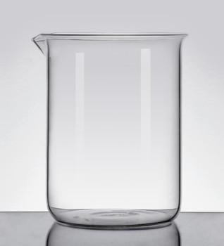 Quartz High Temperature Beaker, Low Form, 600ml