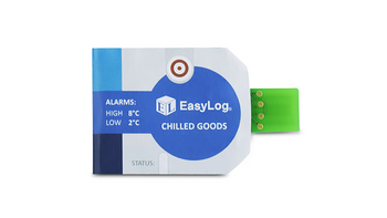 Chilled Goods Data Logger with Alarms, -30°C to +60°C, EL-CC-1-001 (Pack of 10)