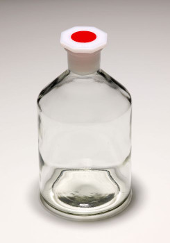 MBL Glass Reagent Bottle with Stopper, 50ml (Pack of 2)