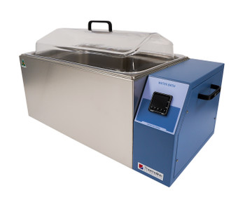 Digital Heated Laboratory Water Bath, Uncirculated, 24 Litres Capacity