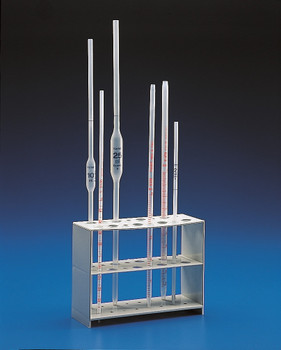 Vertical Pipette Stand, Polypropylene, 16 Place
