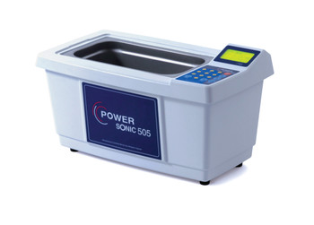 Digital Control Ultrasonic Cleaning Bath with Stainless Steel Basket, Max 70°C, 5 Litres