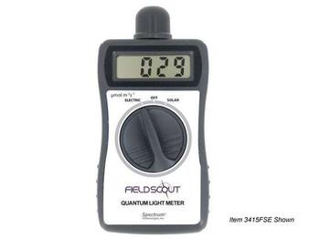 Digital Handheld Quantum Meter, Solar Light and Electric Light (Lightscout)