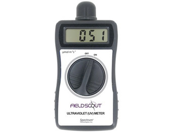 Digital Handheld UV Meter to Monitor Critical UV Radiation 250-400nm (Lightscout)