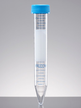 FALCON® Conical Centrifuge Tubes, Screw Cap, Graduated, Sterile, 15ml (Pack of 500)