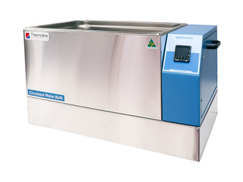 Heated Water Bath with Built in Circulator and Digital Temperature Control, 24 Litres