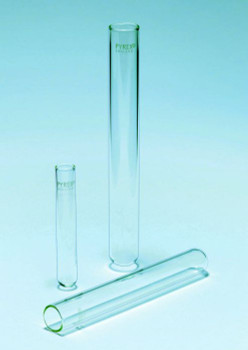 PYREX 22ml Borosilicate Glass Test Tubes, 16x150mm (Pack of 100)