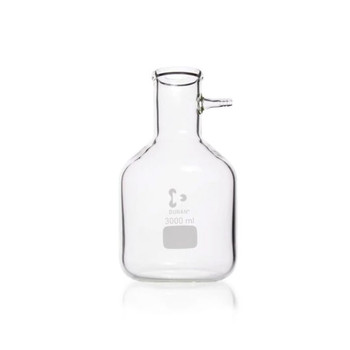 DURAN Buchner Filter Bottle with Glass Nozzle, 5000ml