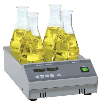 Digital Multi Four Position Magnetic Stirrer, 210x250mm