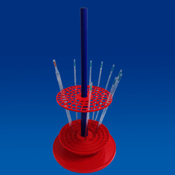 TECHNOS Pipette Stand, Vertical, 94 Pipette Holder