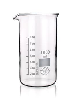 SIMAX Heatproof Glass Beaker, Tall Form, 1000ml