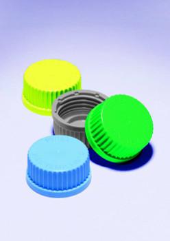 SIMAX Spare Screw Cap Lids, Blue Polypropylene, GL45 (Pack of 4)