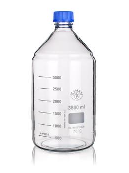 SIMAX Heatproof Lab Bottle with Screw Cap Lid, 10 Litres