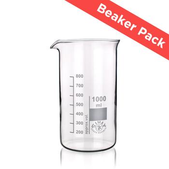 SIMAX® Heatproof Glass Beaker Pack, Tall Form (Pack of 7 Sizes)