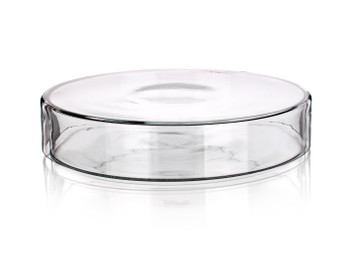 Glass Petri Dishes, 80x15mm (Pack of 4)