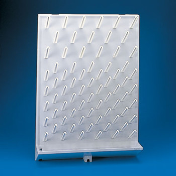 Glassware Draining Rack, High Impact, Polystyrene