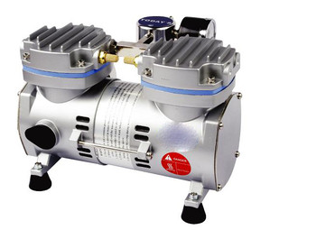 Laboratory Vacuum Pump, Oil Free, 34 Litres/Min (With 1m Silicone Vacuum Tubing)