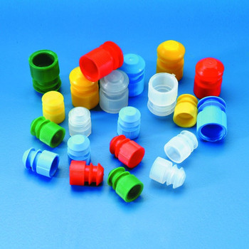 Push in Stoppers, Neutral Colour, 16mm Dia Tubes (Pack of 500)