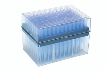 NEXTY Racked Pipette Tips, 96 Per Rack, PP, 100~1000ul (Pack of 10)