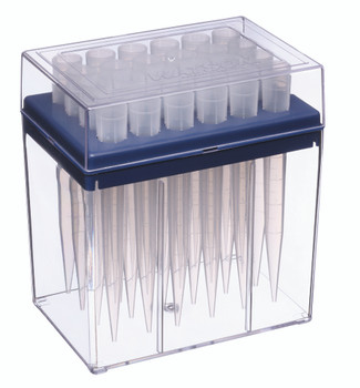NEXTY Racked Pipette Tips, 24 Per Rack, PC, 50~5000ul (Pack of 10)