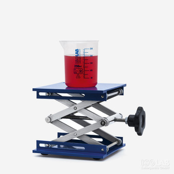 Benchtop Laboratory Jack, 200x200mm Plate, Max 40kg