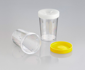 Screw Cap Container, Unlabelled, 500ml (Carton of 126)