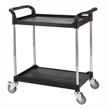 Lab Trolley, 2 Adjustable Shelves