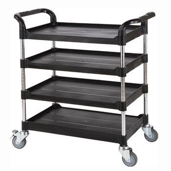 Lab Trolley, 4 Adjustable Shelves