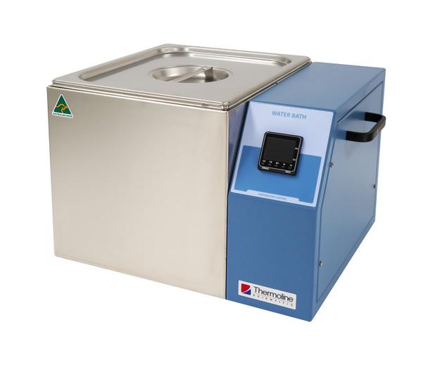 Digital Heated Laboratory Water Bath, Uncirculated, 12 Litres Capacity