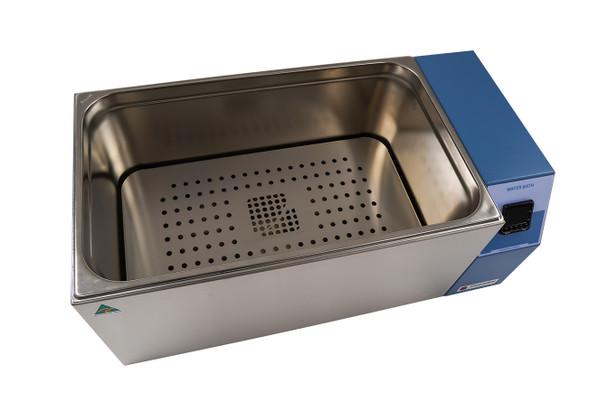 Digital Heated Laboratory Water Bath, Uncirculated, 24 Litres Capacity