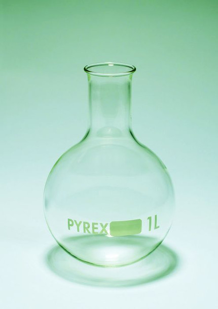 PYREX Glass Round Bottom Boiling Flask, 500ml